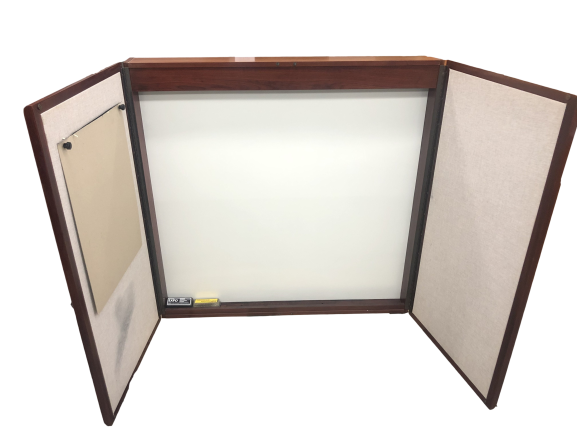 Enclosed Whiteboard