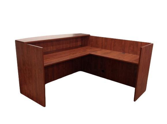 Office Source Reception Desk in Cherry