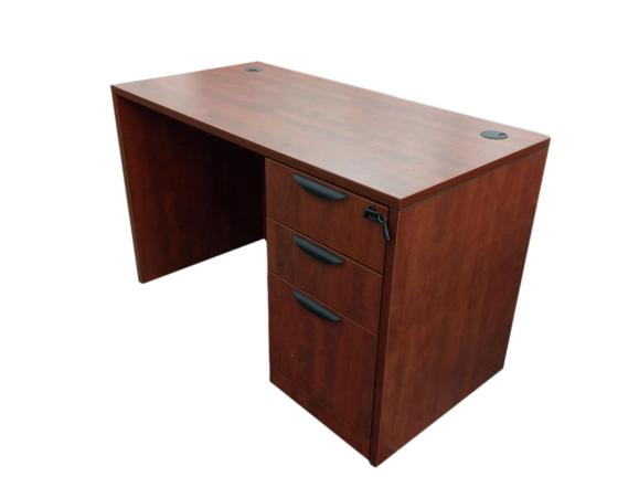 Office Source Laminate Straight Desk