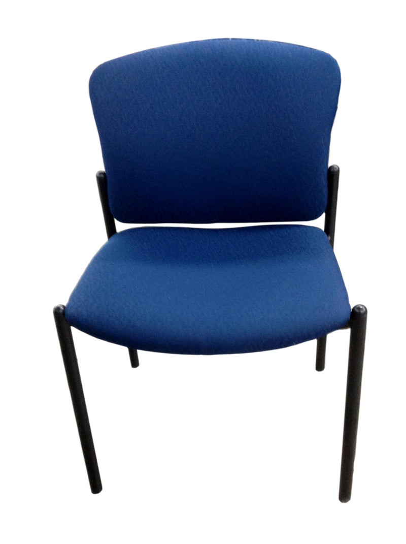 Hon Blue Fabric Guest Chair