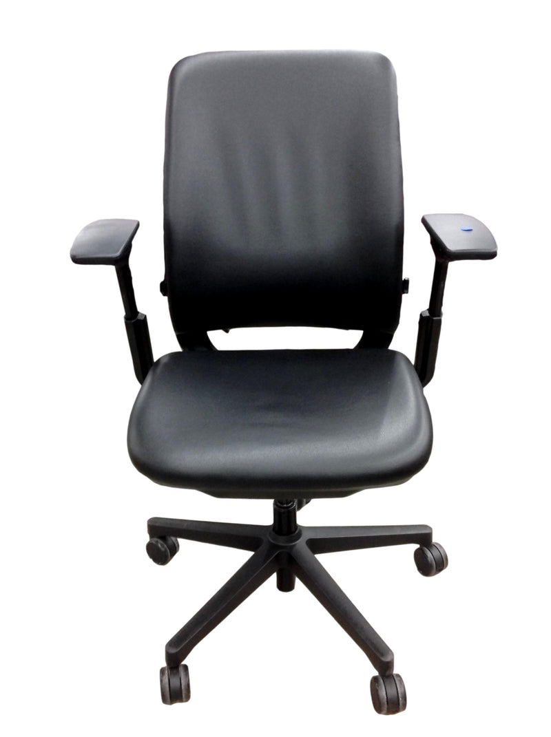 Steelcase Amia - Black Leather