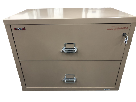 FireKing 2-Drawer Lateral File - Half the Price of New