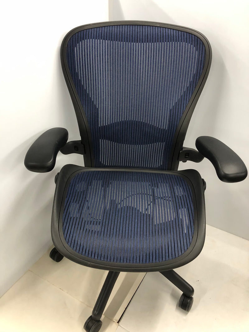 Herman Miller Aeron - C - Blue - Value Office Furniture & Equipment