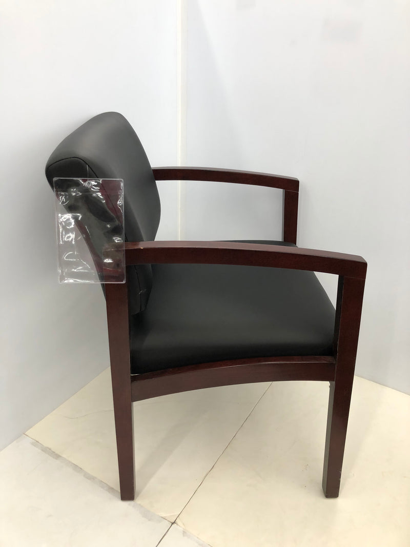 Designer Office Source Guest Chair in Leather