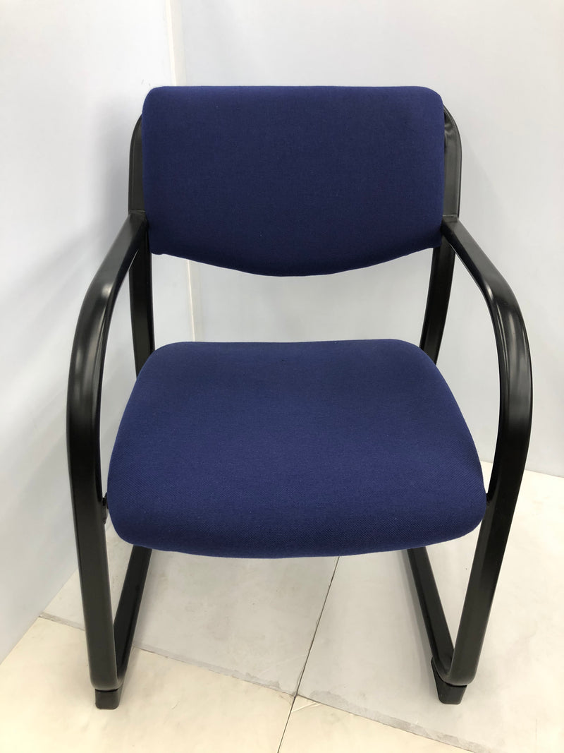 Guest Blue Fabric Office Chair