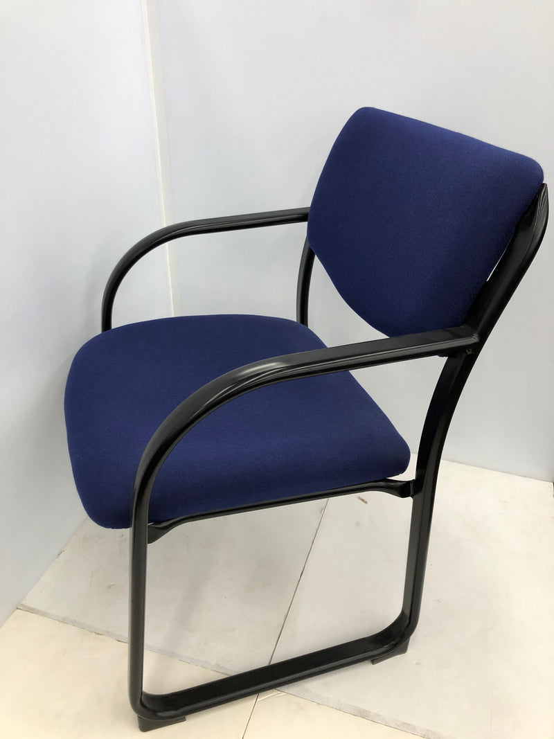 Guest Blue Fabric Office Chair - Value Office Furniture & Equipment