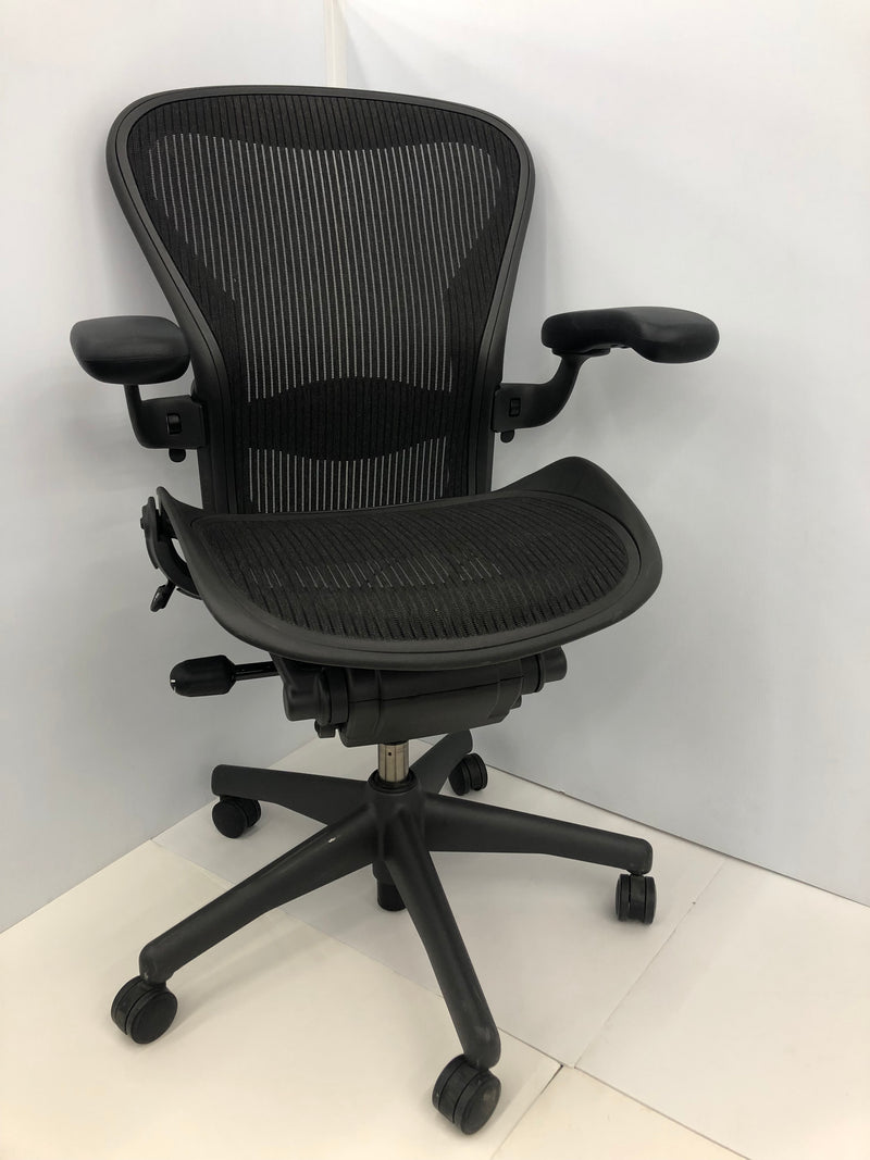 Herman Miller Aeron - B in Black - Value Office Furniture & Equipment