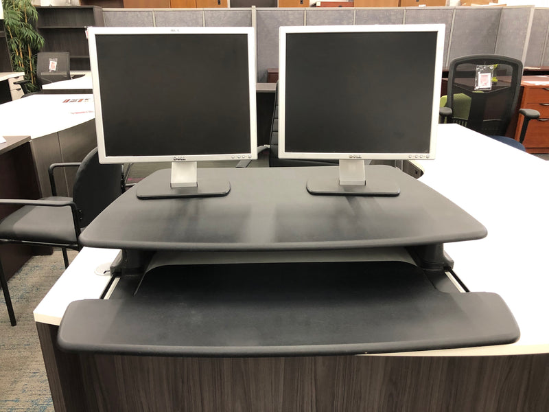 VARIDESK Pro 36 Height-Adjustable Standing Desk - Black