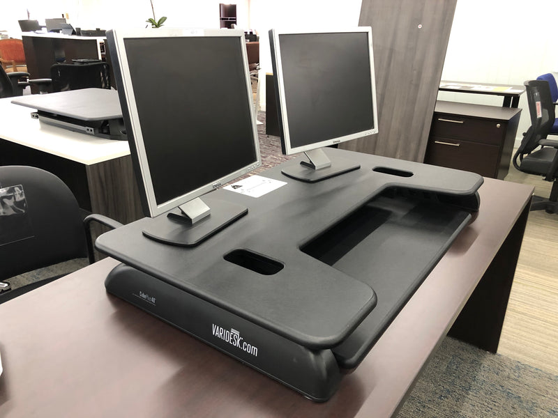 VARIDESK Pro 40 Height-Adjustable Sit to Stand Desk