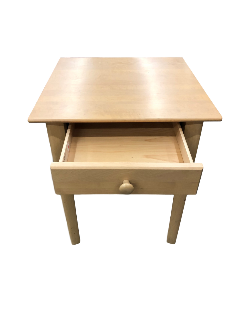 End Table in Light Oak