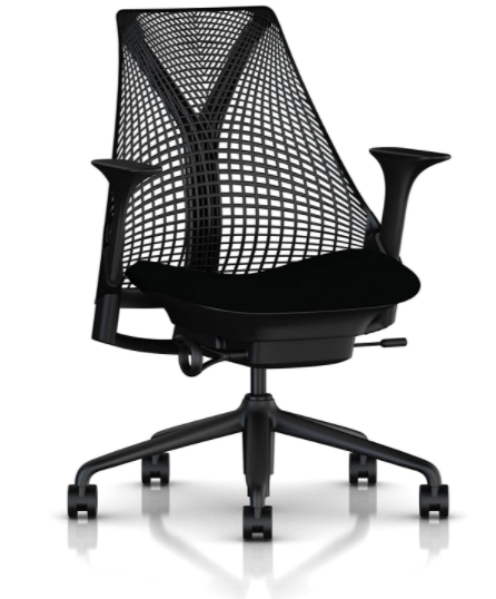 Herman Miller Sayl Chair, Pre-Owned, Black or Gray