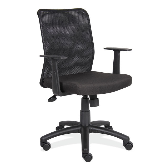 OfficeSource Cade Collection Executive Mesh Back Chair W/ Black Frame