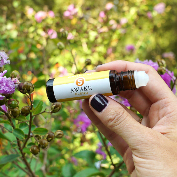 Awake Blend 100% Pure Essential Oil 10ml Roll On Bottle