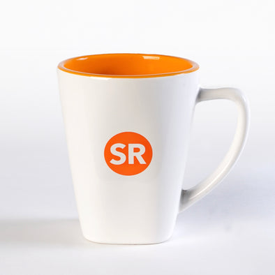 Simple Reminders 14 Oz. Two Tone Ceramic Square Mug