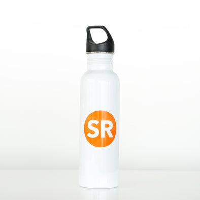 Simple Reminders 26 Oz. Stainless Steel Water Bottle