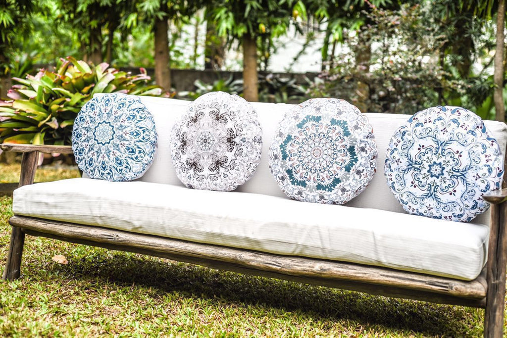 NEW FROM GRACE HOME: The French Chic Collection Throw Pillows
