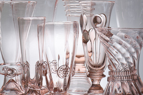 NEW FROM GRACE HOME: Handmade Bohemian Glassware and Fine Porcelain Tea Sets