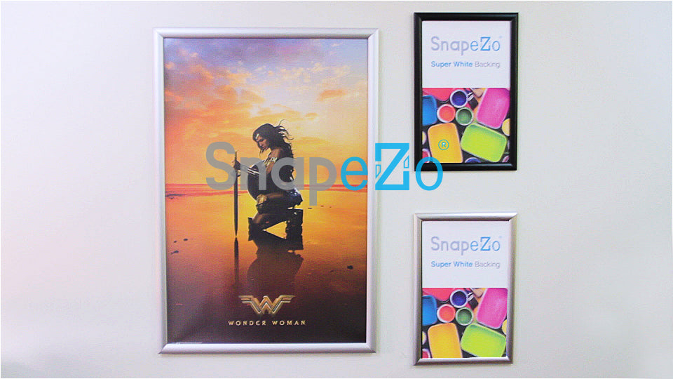 Black snap frame poster size 22X28 - 1 inch profile