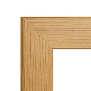 "24x36 Light Wood SnapeZo® Snap Frame - 1"" Profile"