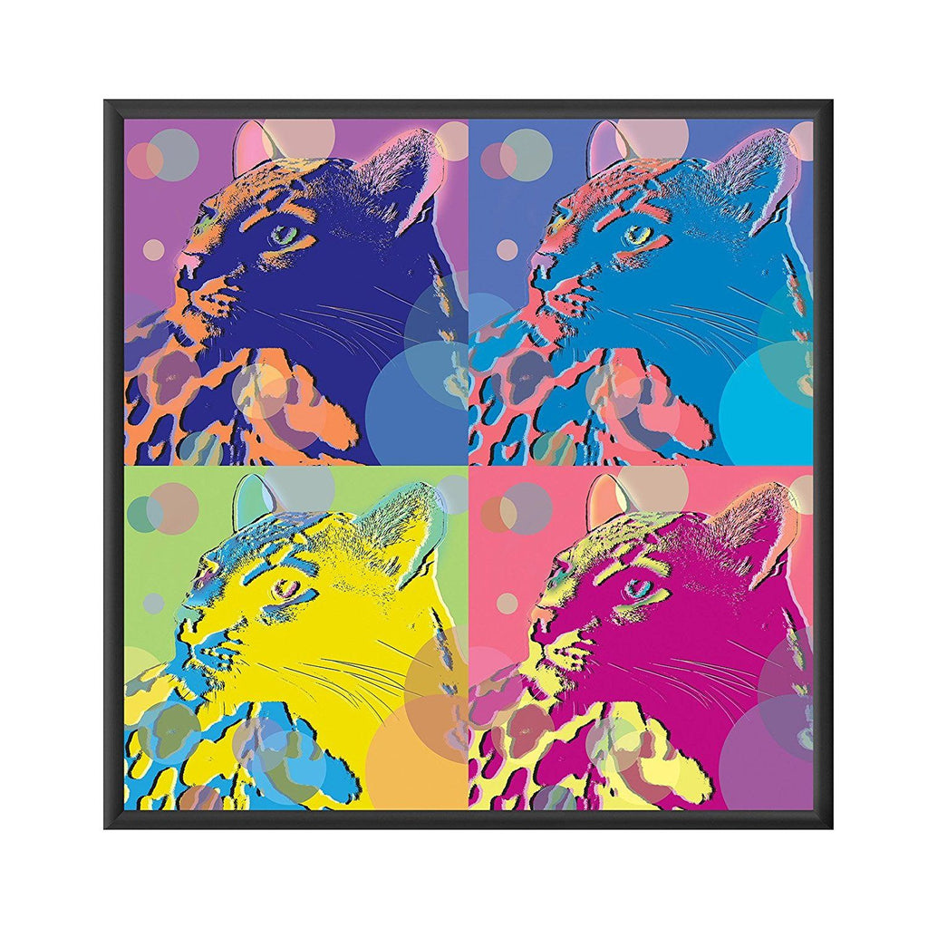 Black snap frame poster size 12x12 - 1 inch profile - Snap Frames Direct