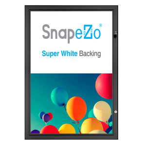 "16x20 Black SnapeZo® Poster Case - 1.77"" Profile"