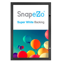 "Load image into Gallery viewer, 27x40 Black SnapeZo® Poster Case - 1.77"" Profile"