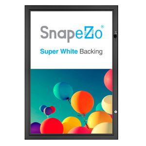 "27x40 Black SnapeZo® Poster Case - 1.77"" Profile"