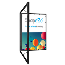 "Load image into Gallery viewer, 16x20 Black SnapeZo® Poster Case - 1.77"" Profile"