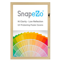 "Load image into Gallery viewer, 22x28 Gold SnapeZo® Poster Case - 1.77"" Profile"