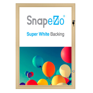"24x30 Gold SnapeZo® Poster Case - 1.77"" Profile"