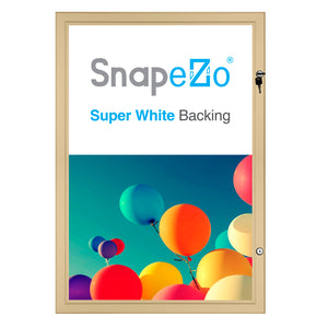 "27x40 Gold SnapeZo® Poster Case - 1.77"" Profile"