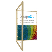 "Load image into Gallery viewer, 27x40 Gold SnapeZo® Poster Case - 1.77"" Profile"