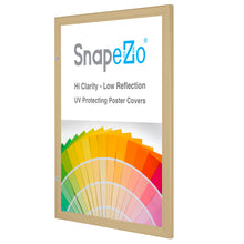 "Load image into Gallery viewer, 16x20 Gold SnapeZo® Poster Case - 1.77"" Profile"
