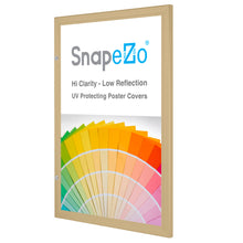 "Load image into Gallery viewer, 27x41 Gold SnapeZo® Poster Case - 1.77"" Profile"