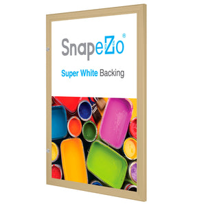 "22x28 Gold SnapeZo® Poster Case - 1.77"" Profile"