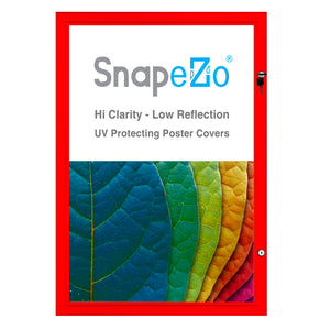 "22x28 Red SnapeZo® Poster Case - 1.77"" Profile"