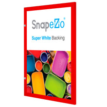 "Load image into Gallery viewer, 22x28 Red SnapeZo® Poster Case - 1.77"" Profile"