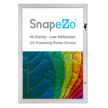 "Load image into Gallery viewer, 27x40 Silver SnapeZo® Poster Case - 1.77"" Profile"