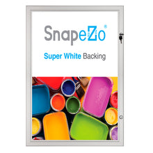 "Load image into Gallery viewer, 18x24 Silver SnapeZo® Poster Case - 1.77"" Profile"