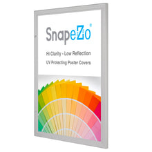 "Load image into Gallery viewer, 24x30 Silver SnapeZo® Poster Case - 1.77"" Profile"