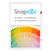 "Load image into Gallery viewer, 20x30 White SnapeZo® Poster Case - 1.77"" Profile"