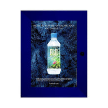 Load image into Gallery viewer, Blue poster case  poster size 11x17 - 1.77 inch profile - Snap Frames Direct