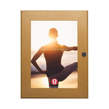 Load image into Gallery viewer, Light Wood poster case  poster size 22x28 - 1.77 inch profile - Snap Frames Direct