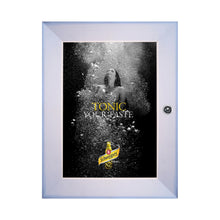Load image into Gallery viewer, Silver poster case  poster size 8.5x11 - 1.77 inch profile - Snap Frames Direct