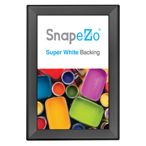 "11x17 Black SnapeZo® Double-Sided - 1.25"" Profile"
