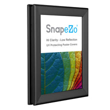 "Load image into Gallery viewer, 11x17 Black SnapeZo® Double-Sided - 1.25"" Profile"