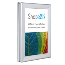 "Load image into Gallery viewer, 8.5x11 Silver SnapeZo® Double-Sided - 1.25"" Profile"