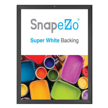 "Load image into Gallery viewer, 18x24 Black SnapeZo® Return Locking - 1.25"" Profile"