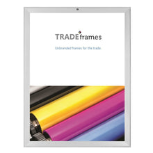 "Load image into Gallery viewer, 18x30 Silver TRADEframe locking 18x30 - 1.25"" Profile"