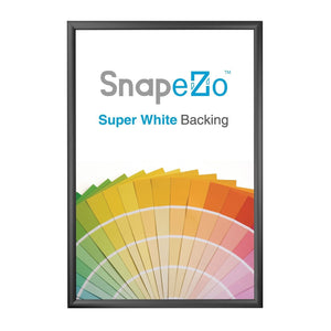 "22x56 Black SnapeZo® Return Snap Frame - 1.7"" Profile"